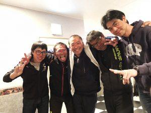 木島平スキー場を守るメンズ。ありがとうございました!